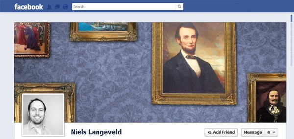 Niels Langeveld Facebook Timeline Tips and Cover Page Inspirations