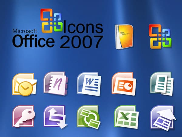 Office 2007 Icons 20+ Free Microsoft Office PNG Icons