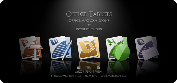Office Tablets 20+ Free Microsoft Office PNG Icons
