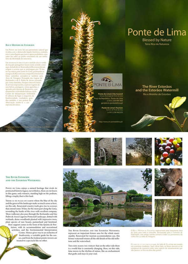 Ponte de Lima.01 30 Beautiful Travel Brochure Designs