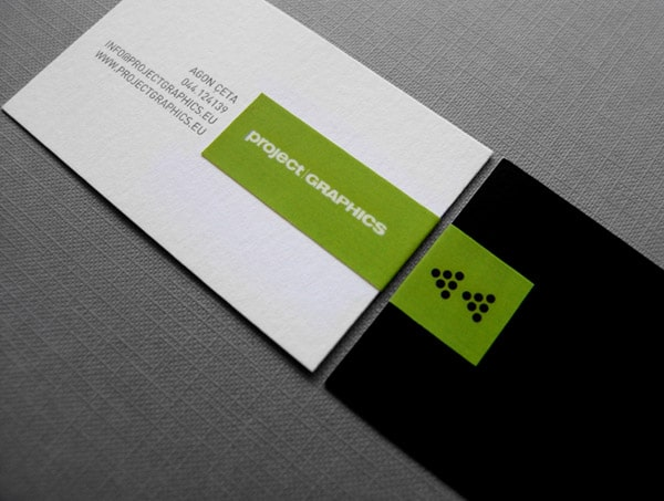 ProjectGRAPHICS 50+ Green Business card Designs