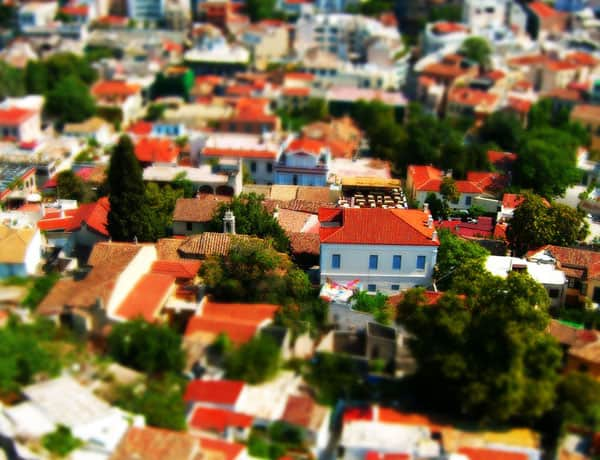Simulated tilt shift 15 Tilt Shift Tutorials, Miniature Faking in Photoshop