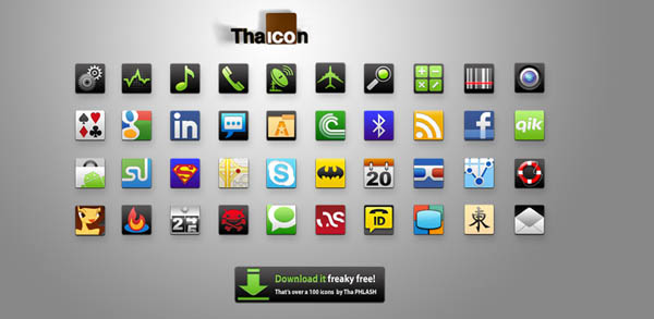 Tha Icon by ThaPHLASH 40+ Android Icons Collections