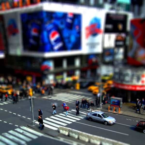 Tilt Shift Photography Photoshop Tutorial 15 Tilt Shift Tutorials, Miniature Faking in Photoshop