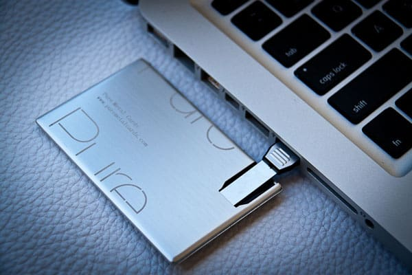 USB Metal Business Card 30+ Luxury Business Cards