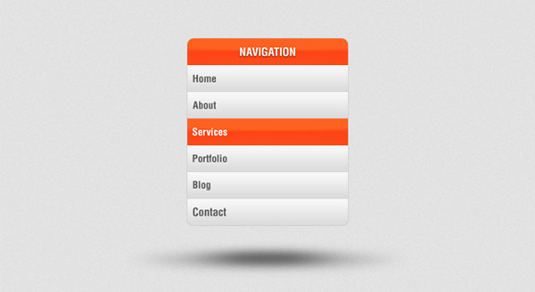 Vertical Navigation Menu PSD 40 Free Website Navigation Menu Bar PSDs