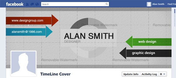 alan smith Facebook Timeline Tips and Cover Page Inspirations