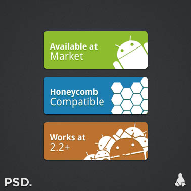 android logos by thiago silva d3d5vw6 40+ Android Icons Collections