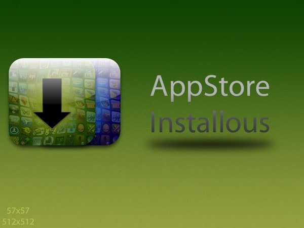 appstore installous icon 30+ iPhone App Icons Collections