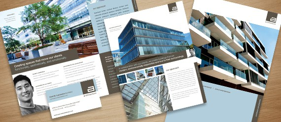 architect business marketing graphic design 10+ Architecture Brochures Collections
