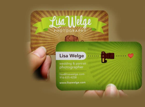 business card 50+ Green Business card Designs