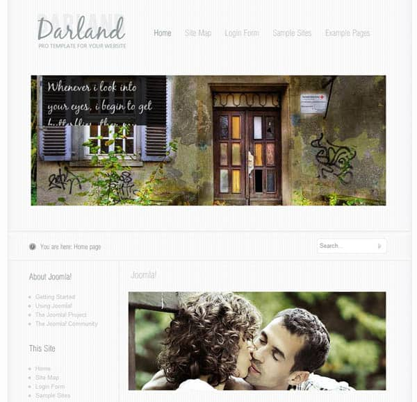 darland 25 Free Dreamweaver CSS Templates