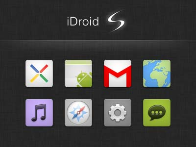 droid s 40+ Android Icons Collections