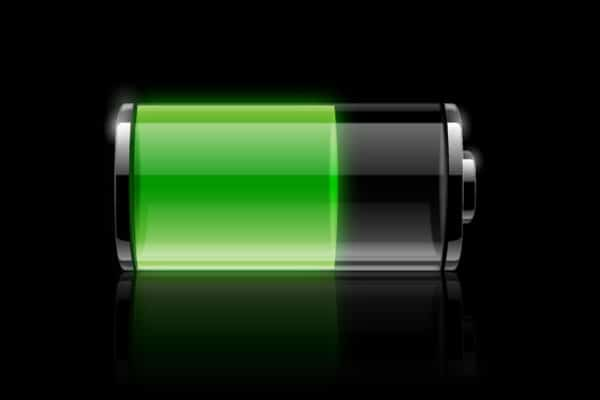 Transparent Battery Icon