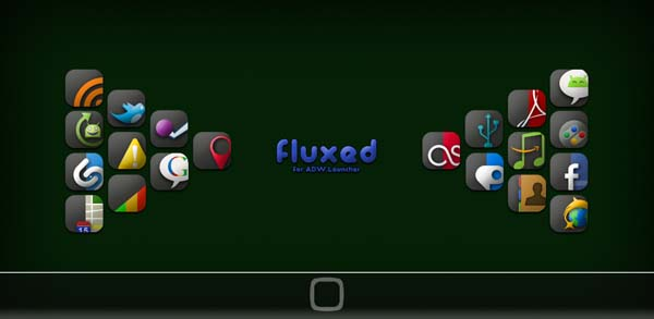 fluxed for android by vazguard d32ffwi 40+ Android Icons Collections
