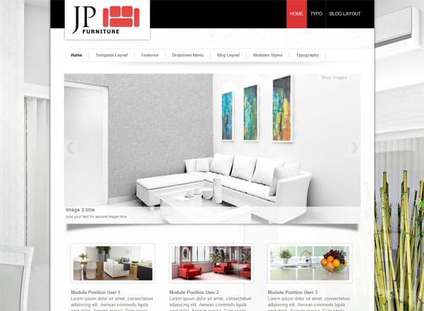 furniture 25 Best Joomla Templates for Inspiration