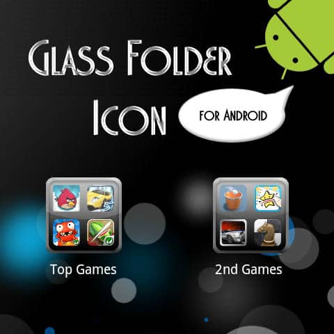 glass folder icon 30+ iPhone App Icons Collections
