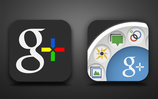 google  for ios concept 30+ iPhone App Icons Collections