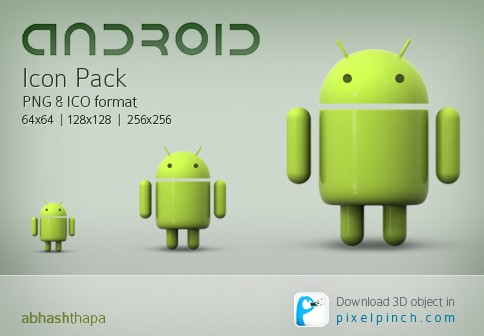 google android icon pack by abhashthapa d3gu4cz 40+ Android Icons Collections