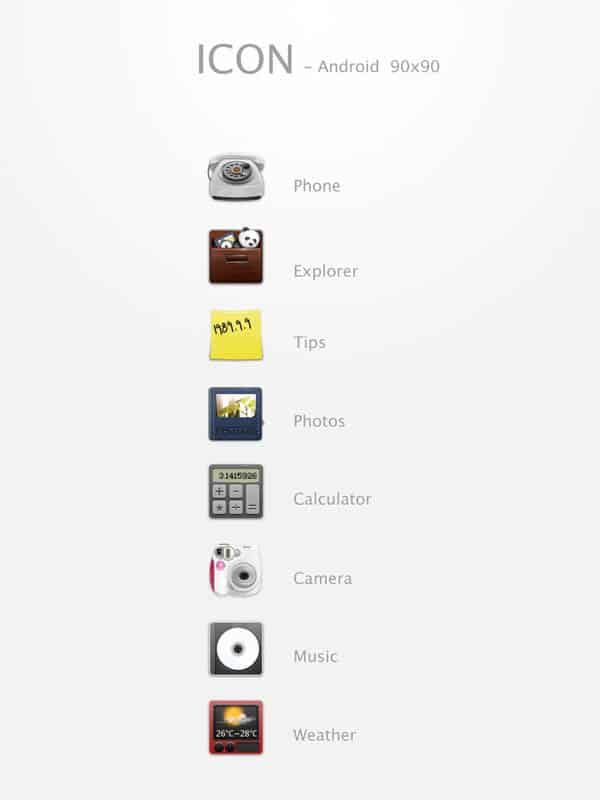 icon   android  40+ Android Icons Collections