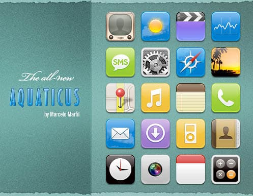 ifoneicon12 30+ iPhone App Icons Collections