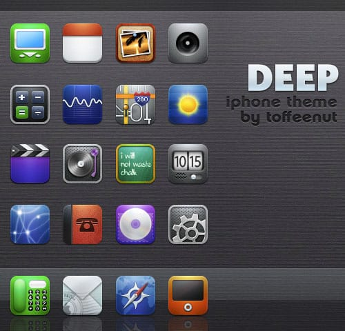ifoneicon5 30+ iPhone App Icons Collections