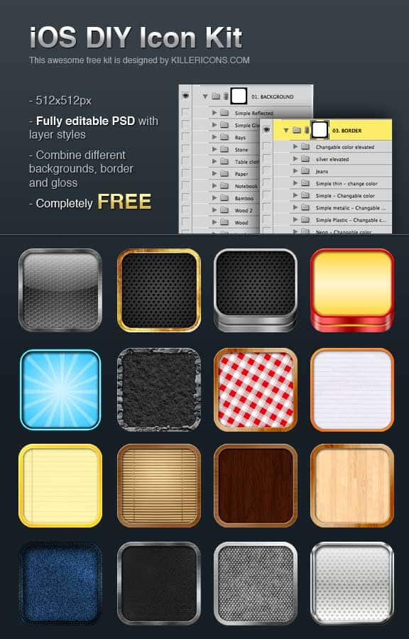 iphone icons 30+ iPhone App Icons Collections