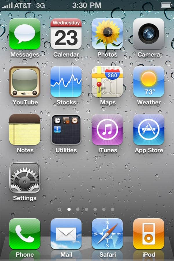 iphone 4 default app icons 30+ iPhone App Icons Collections