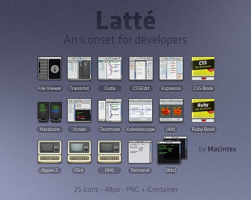 latte 20+ Free High Quality Icons Collections