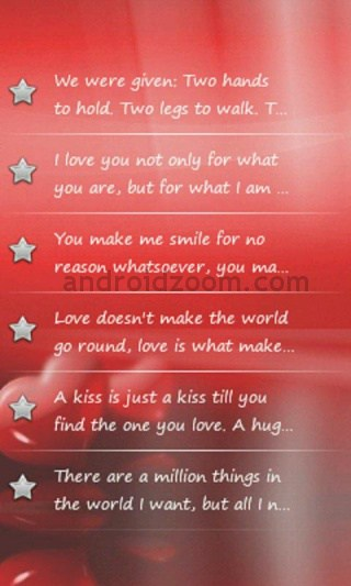 love and romance quotes 19 2 20 Best Android Apps to Celebrate Valentines Day