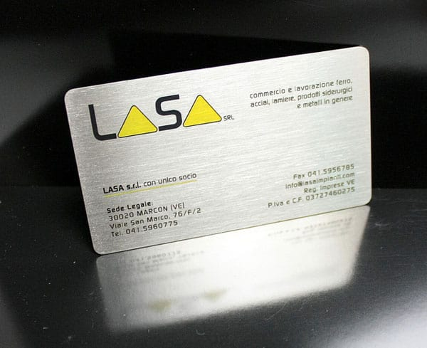 metal steel business cards 30+ Luxury Business Cards
