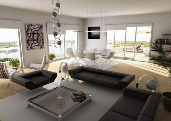 penthouse living room 30+ Living Room Designs for your Sweet Home