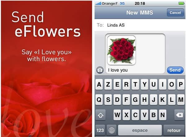 valentine iphone apps