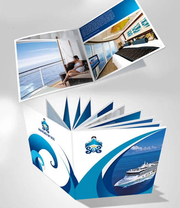 Beautiful Brochure Design: 30 Beautiful Travel Brochure Designs