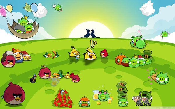 Angry Birds Party wallpaper 20 HD Angry Birds Pictures for your Desktop