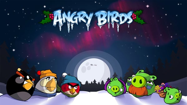 Angry Birds Winter wallpaper 20 HD Angry Birds Pictures for your Desktop