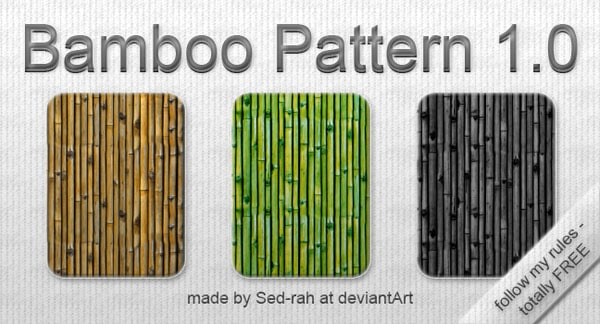 Bamboo Pattern 1.0 50+ Free Bamboo Textures For Photoshop