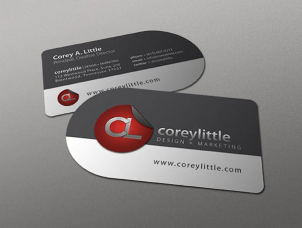 Corey Little 30 Classy Business Cards