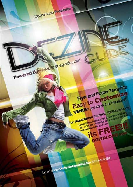 Dezine Flyer Web Preview 20+ Free Party Flyer Templates Collections