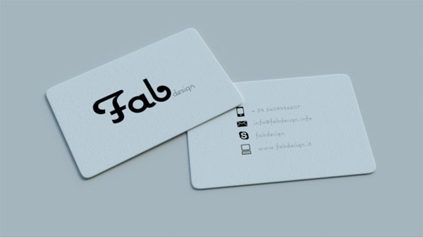 Fab Design 30 Classy Business Cards