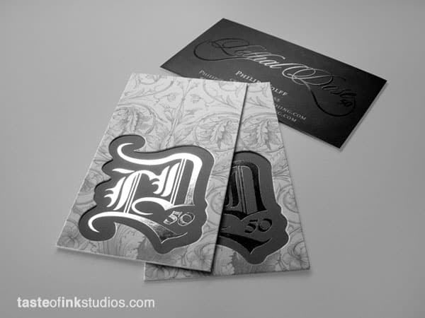 Lethal Dose Business Card Design 30 Classy Business Cards