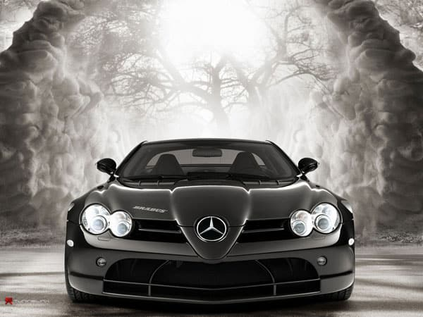 Mercedes slr 10 Most Expensive Cars
