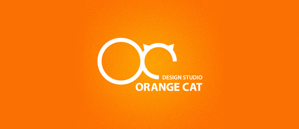 Orange Cat Funny Logos   Designer Inspiration