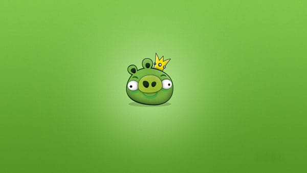 Pig King 20 HD Angry Birds Pictures for your Desktop