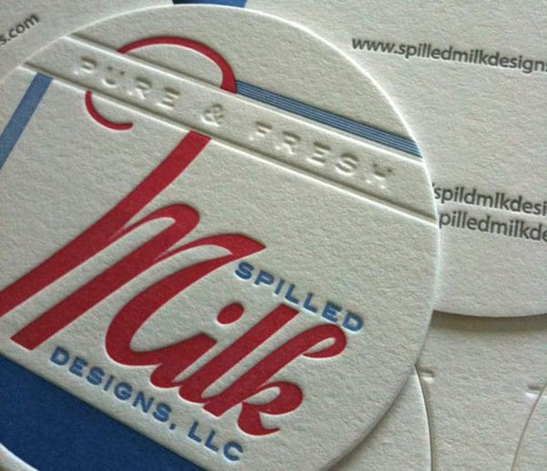 Spilled Milk Designs 30 Classy Business Cards