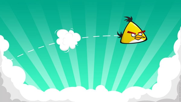 Yellow Angry Bird 20 HD Angry Birds Pictures for your Desktop
