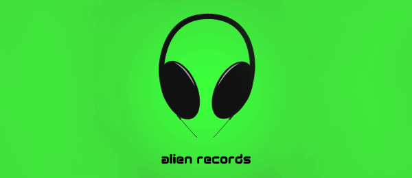 alien records Funny Logos   Designer Inspiration