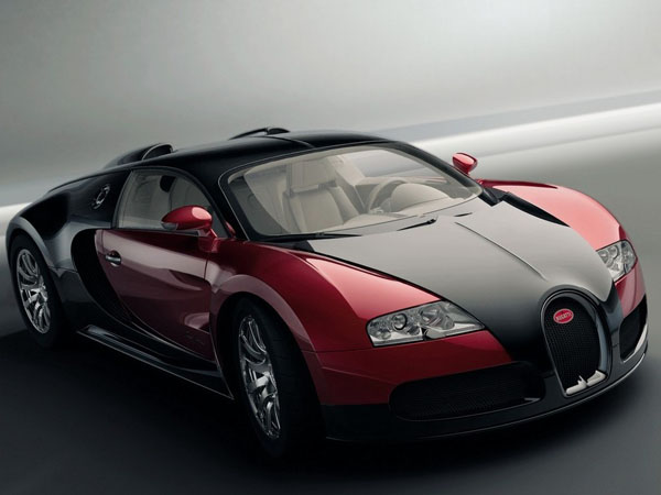 bugatti veyron  10 Most Expensive Cars
