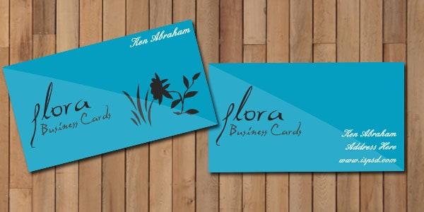 flora_blue_business_card_f
