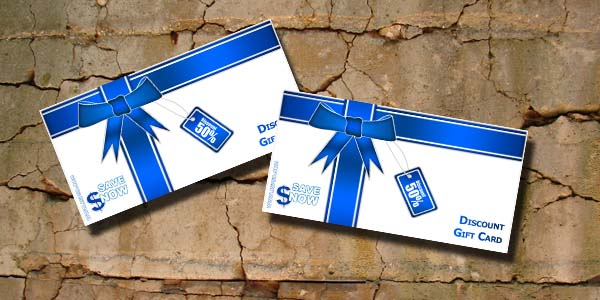 Gift Card Psd Template